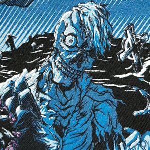 Tultex Shirts - Asking Alexandria Undead Zombie Graveyard T-Shirt